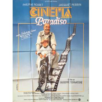 CINEMA PARADISO Affiche de film - 120x160 cm. - 1988 - Philippe Noiret, Giuseppe Tornatore