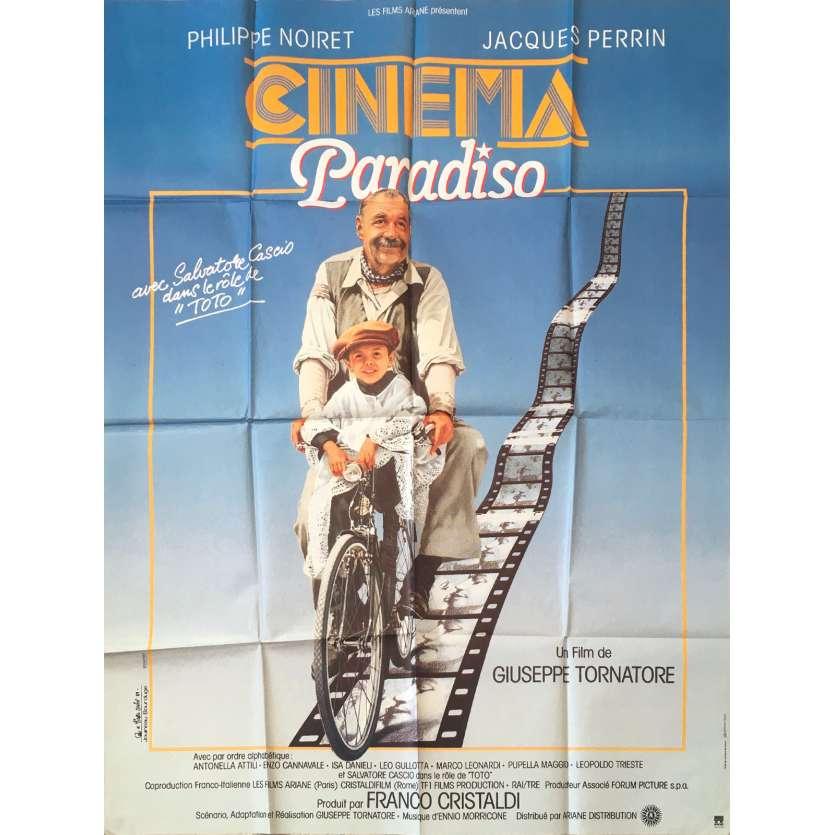 CINEMA PARADISO Original Movie Poster 0 - 47x63 in. - 1988 - Giuseppe Tornatore, Philippe Noiret