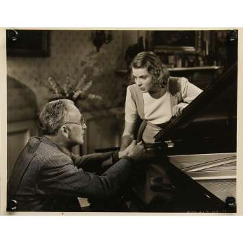 ENVOL VERS LE BONHEUR Photo de presse 109-75 - 20x25 cm. - 1939 - Ingrid Bergman, Gregory Ratoff
