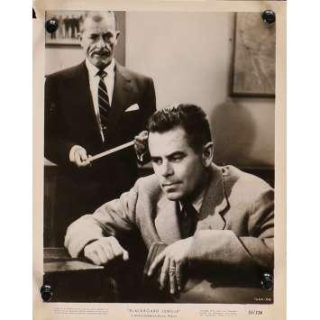 GRAINE DE VIOLENCE Photo de presse 1666-110 - 20x25 cm. - 1955 - Glenn Ford, Richard Brooks