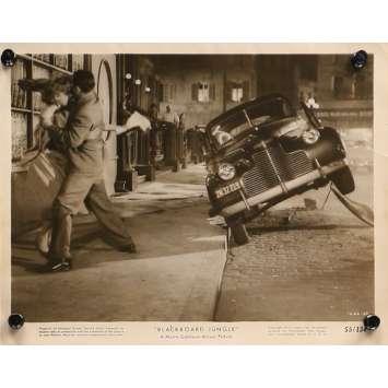 GRAINE DE VIOLENCE Photo de presse 1666-68 - 20x25 cm. - 1955 - Glenn Ford, Richard Brooks
