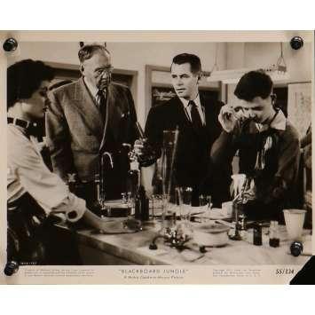 GRAINE DE VIOLENCE Photo de presse 1666-121 - 20x25 cm. - 1955 - Glenn Ford, Richard Brooks