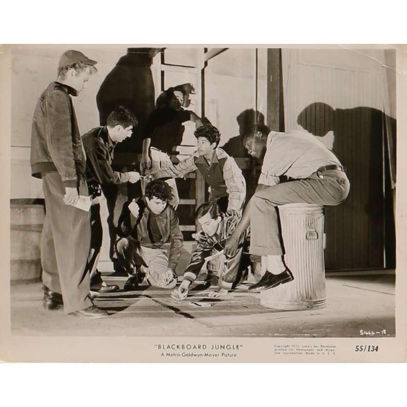 BLACKBOARD JUNGLE Original Movie Still 1666-18 - 8x10 in. - 1955 - Richard Brooks, Glenn Ford