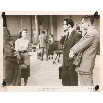 GRAINE DE VIOLENCE Photo de presse 1666-66X - 20x25 cm. - 1955 - Glenn Ford, Richard Brooks
