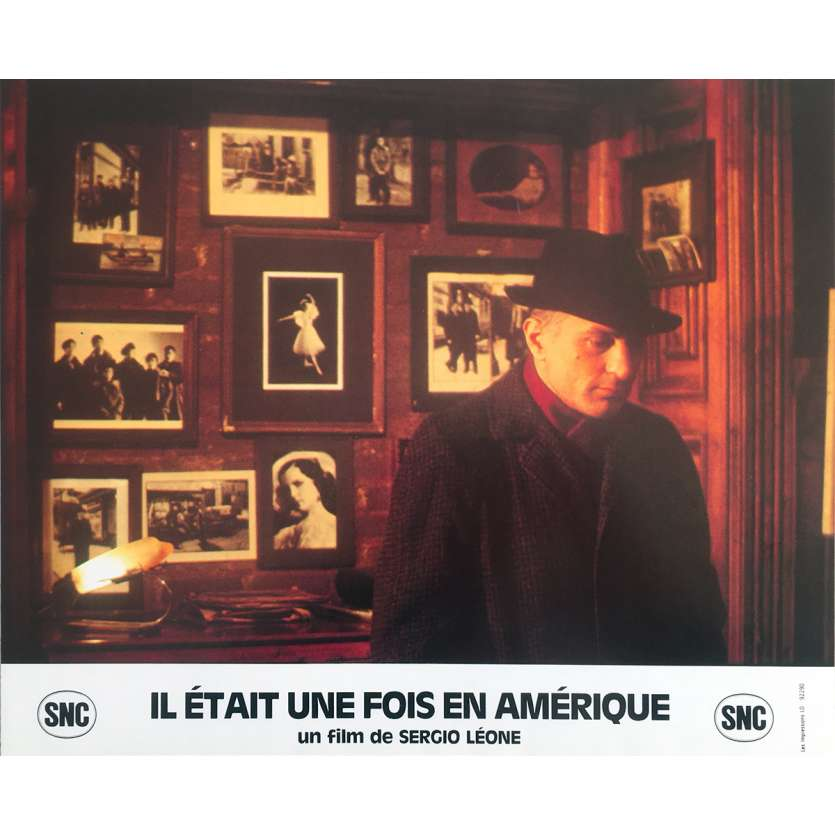 ONCE UPON A TIME IN AMERICA Original Lobby Card N16 - 10x12 in. - 1984 - Sergio Leone, Robert de Niro