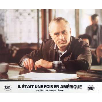 ONCE UPON A TIME IN AMERICA Original Lobby Card N12 - 10x12 in. - 1984 - Sergio Leone, Robert de Niro