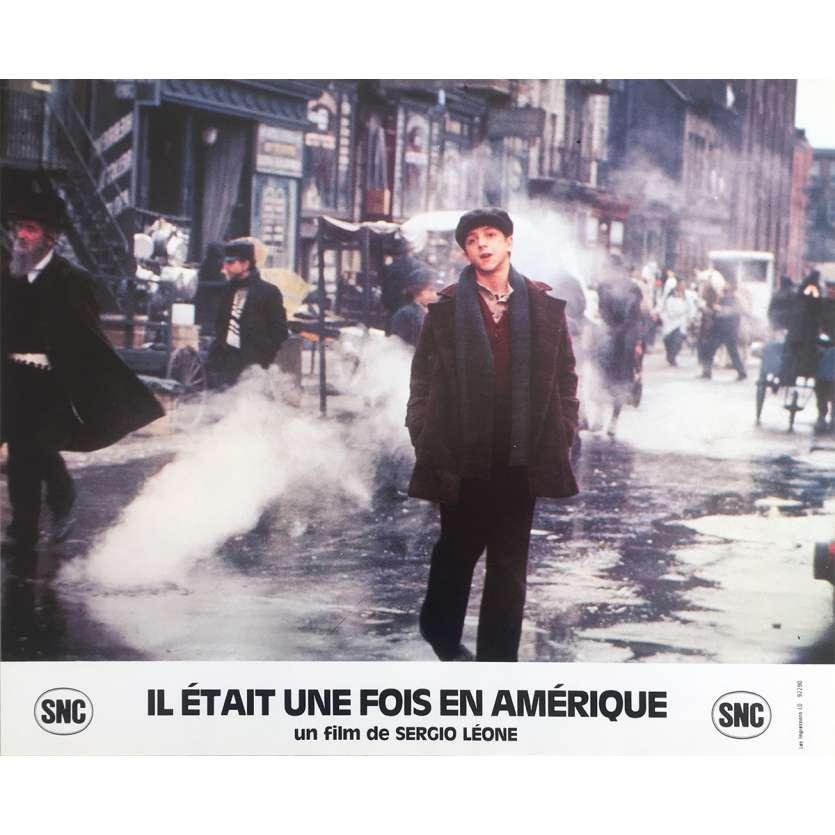 ONCE UPON A TIME IN AMERICA Original Lobby Card N11 - 10x12 in. - 1984 - Sergio Leone, Robert de Niro