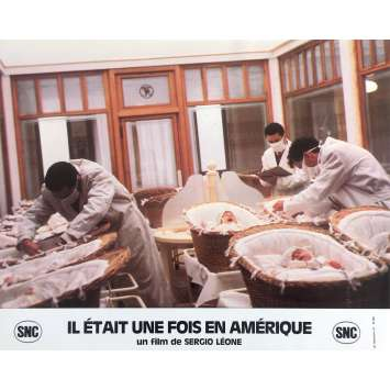 ONCE UPON A TIME IN AMERICA Original Lobby Card N10 - 10x12 in. - 1984 - Sergio Leone, Robert de Niro