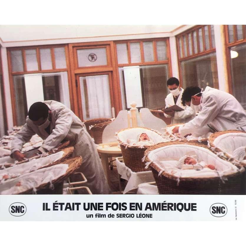 ONCE UPON A TIME IN AMERICA Original Lobby Card N10 - 10x12 in. - 1984 - Sergio Leone, Robert de Niro