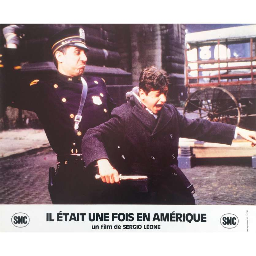 ONCE UPON A TIME IN AMERICA Original Lobby Card N9 - 10x12 in. - 1984 - Sergio Leone, Robert de Niro
