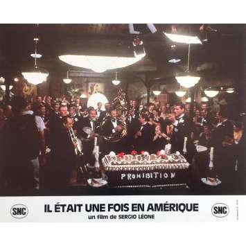 ONCE UPON A TIME IN AMERICA Original Lobby Card N8 - 10x12 in. - 1984 - Sergio Leone, Robert de Niro