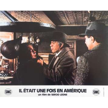 ONCE UPON A TIME IN AMERICA Original Lobby Card N7 - 10x12 in. - 1984 - Sergio Leone, Robert de Niro