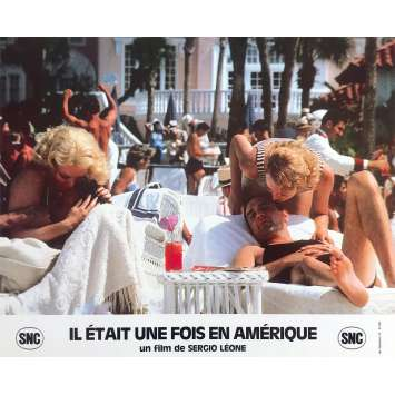 ONCE UPON A TIME IN AMERICA Original Lobby Card N6 - 10x12 in. - 1984 - Sergio Leone, Robert de Niro