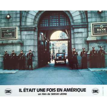 ONCE UPON A TIME IN AMERICA Original Lobby Card N5 - 10x12 in. - 1984 - Sergio Leone, Robert de Niro