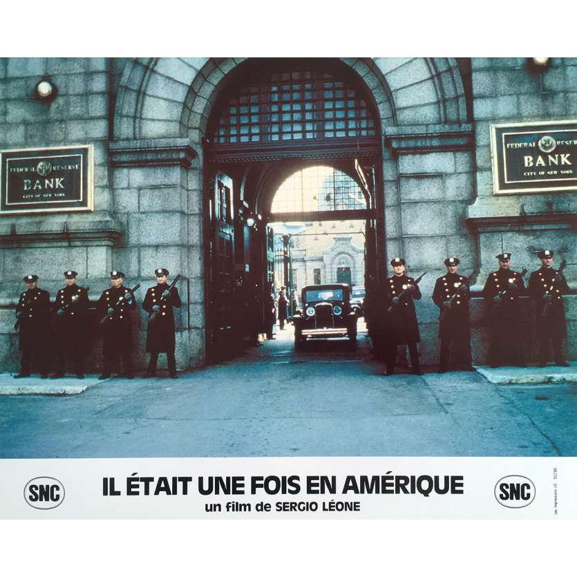 ONCE UPON A TIME IN AMERICA Original Lobby Card N5 - 10x12 in. - 1984 - Sergio Leone, Robert de Niro