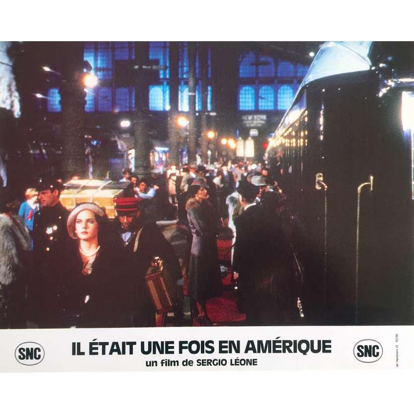 ONCE UPON A TIME IN AMERICA Original Lobby Card N4 - 10x12 in. - 1984 - Sergio Leone, Robert de Niro