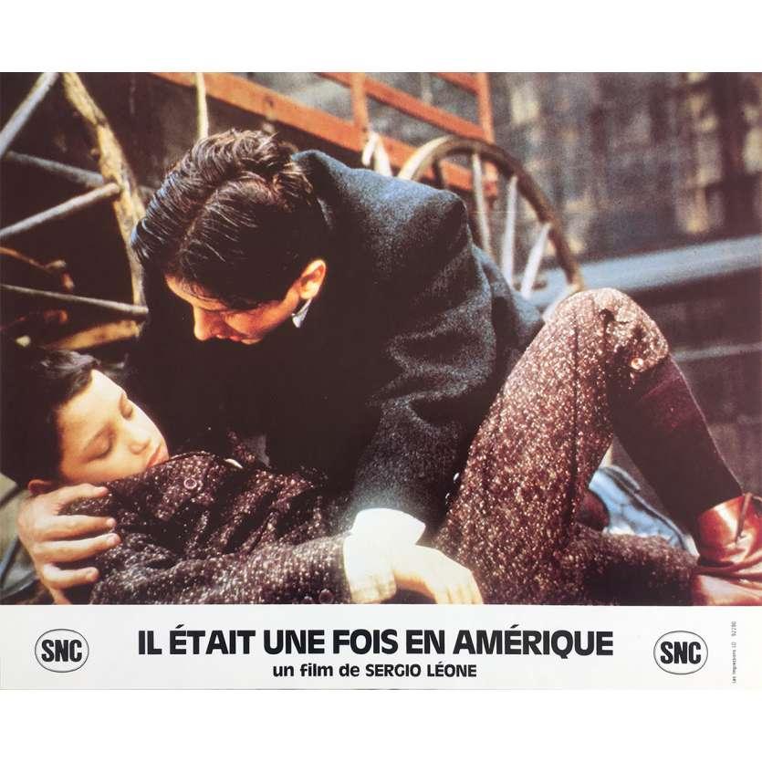 ONCE UPON A TIME IN AMERICA Original Lobby Card N2 - 10x12 in. - 1984 - Sergio Leone, Robert de Niro