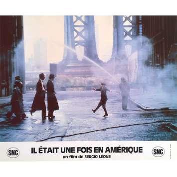 ONCE UPON A TIME IN AMERICA Original Lobby Card N1 - 10x12 in. - 1984 - Sergio Leone, Robert de Niro