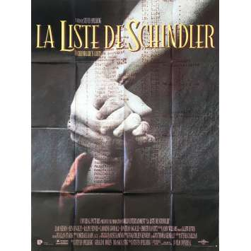 SCHINDLER'S LIST Original Movie Poster 0 - 47x63 in. - 1993 - Steven Spielberg, Liam Neeson