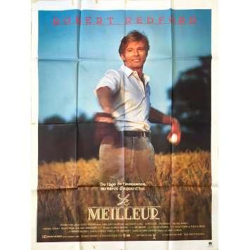 LE MEILLEUR Affiche de film - 120x160 cm. - 1984 - Robert Redford, Barry Levinson
