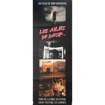 LES AILES DU DESIR Affiche de film - 60x160 cm. - 1987 - Bruno Ganz, Wim Wenders