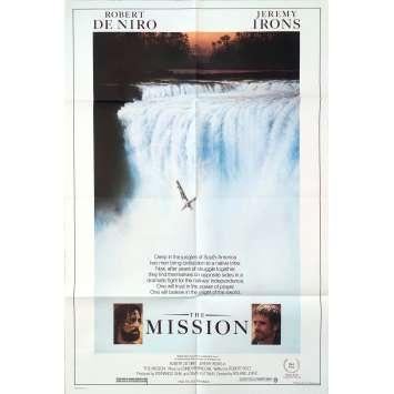 MISSION Affiche de film - 69x102 cm. - 1986 - Robert de Niro, Roland Joffé