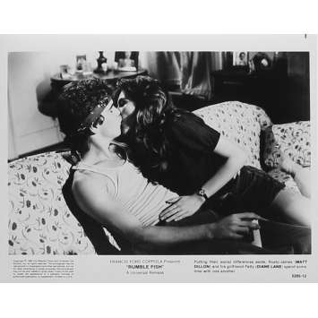 RUSTY JAMES Photo de presse 5295-12 - 20x25 cm. - 1983 - Matt Dillon, Francis Ford Coppola