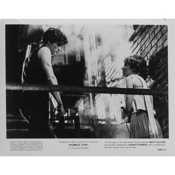 RUSTY JAMES Photo de presse 5295-13 - 20x25 cm. - 1983 - Matt Dillon, Francis Ford Coppola