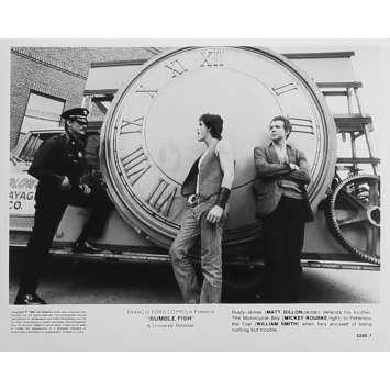 RUSTY JAMES Photo de presse 5295-7 - 20x25 cm. - 1983 - Matt Dillon, Francis Ford Coppola