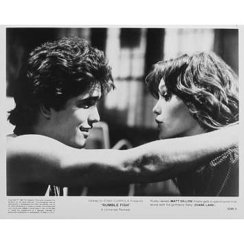 RUSTY JAMES Photo de presse 5295-5 - 20x25 cm. - 1983 - Matt Dillon, Francis Ford Coppola