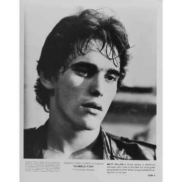 RUSTY JAMES Photo de presse 5295-3 - 20x25 cm. - 1983 - Matt Dillon, Francis Ford Coppola