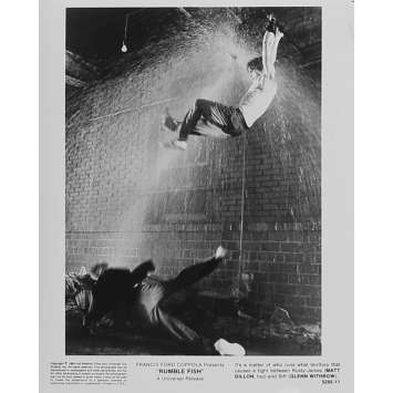RUSTY JAMES Photo de presse 5295-11 - 20x25 cm. - 1983 - Matt Dillon, Francis Ford Coppola