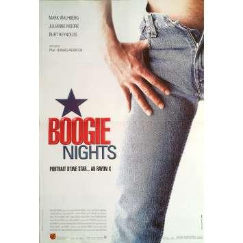 BOOGIE NIGHTS Original Movie Poster 0 - 15x21 in. - 1997 - Paul Thomas Anderson, Mark Wahlberg