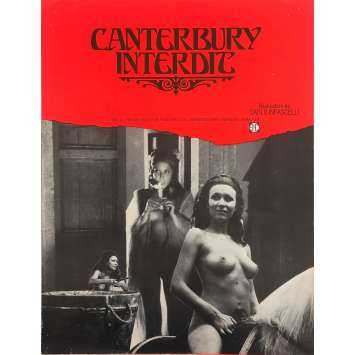 LE MILLE E UNA NOTTE ALL'ITALIANA Original Herald 0 - 10x12 in. - 1972 - Carlo Infascelli, Malisa Longo