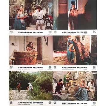 CANTERBURY INTERDIT Photos de film x16 - 21x30 cm. - 1972 - Malisa Longo, Carlo Infascelli