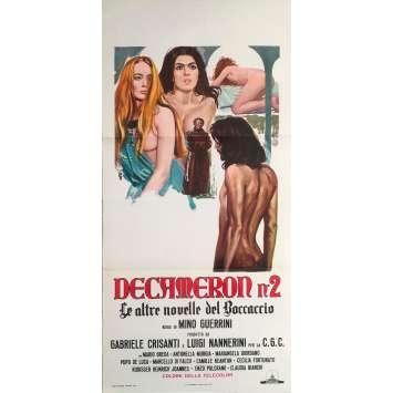 DECAMERON 2 Original Movie Poster 0 - 13x28 in. - 1972 - Mino Guerrini, Enzo Pulcrano