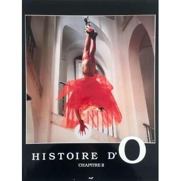 THE STORY OF O 2 Original Lobby Card N2 - 12x15 in. - 1984 - Eric Rochat, Sandra Wey