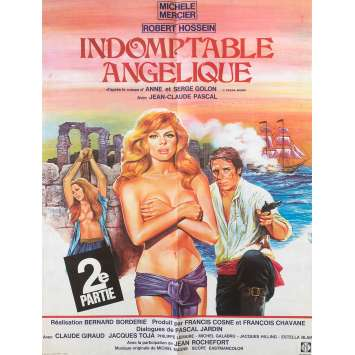 UNTAMABLE ANGELIQUE Original Movie Poster 0 - 23x32 in. - 1967 - Bernard Borderie, Michèle Mercier