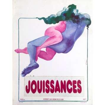 JOUISSANCES / ANNIE LA VIERGE DE ST TROPEZ Synopsis - 24x30 cm. - 1976 - Adige Assis, Zygmunt Sulistrowski