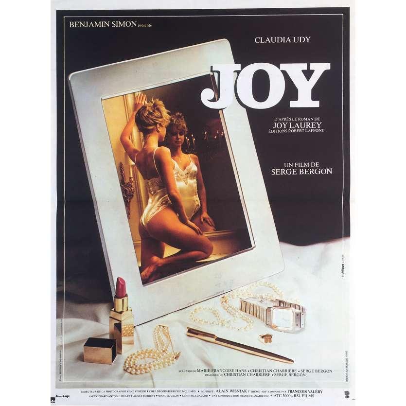 JOY Original Movie Poster 0 - 15x21 in. - 1983 - Sergio Bergonzelli, Claudia Udy