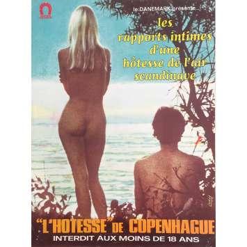 L'HOTESSE DE COPENHAGUE Synopsis - 24x30 cm. - 1971 - Birte Tove, Jack O'Connell