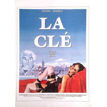 LA CLE Synopsis - 21x30 cm. - 1983 - Stefania Sandrelli, Tinto Brass