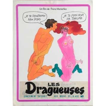 LES DRAGUEUSES Synopsis - 24x30 cm. - 1972 - Anne Graf, Franz Marischka