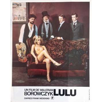 LULU Photo de film N1 - 21x30 cm. - 1980 - Anne Bennent, Walerian Borowczyk