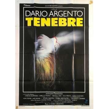 TENEBRES Affiche de film - 100x140 cm. - 1982 - John Saxon, Dario Argento