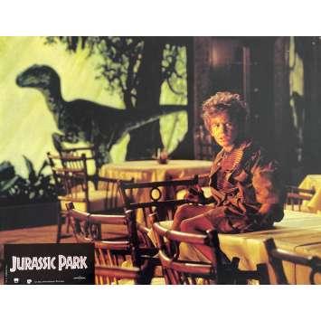 JURASSIC PARK Original Lobby Card N1 - 9x12 in. - 1993 - Steven Spielberg, Sam Neil