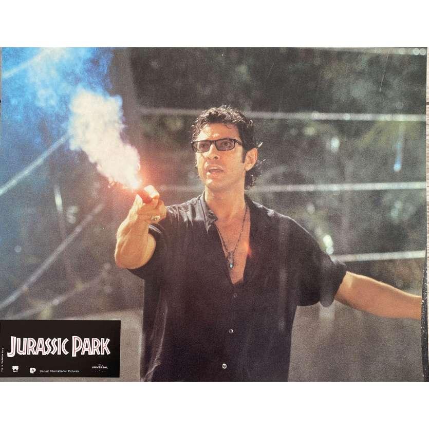 JURASSIC PARK Original Lobby Card N3 - 9x12 in. - 1993 - Steven Spielberg, Sam Neil