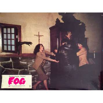 FOG Original Lobby Card N3 - 9x12 in. - 1979 - John Carpenter, Jamie Lee Curtis
