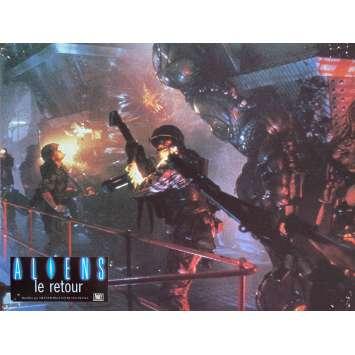 ALIENS Original Lobby Card N1 - 9x12 in. - 1986 - James Cameron, Sigourney Weaver
