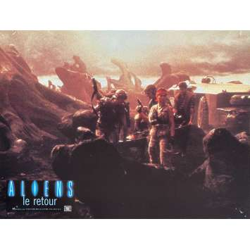 ALIENS Photo de film N2 - 21x30 cm. - 1986 - Sigourney Weaver, James Cameron